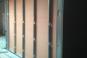 Metal Stud PartitionsA quick, cost effective partition system which can be upgraded to enhance fire or acoustic performance